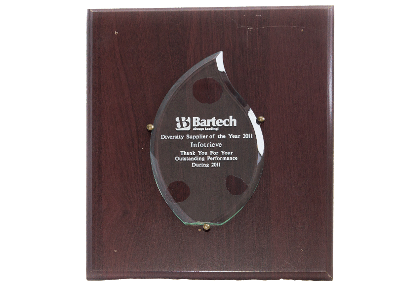 Infotree Global bartech Award